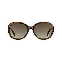 Givenchy Eyewear Óculos De Sol Redondo Tartaruga - Marrom