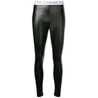 Faith Connexion Legging Com Logo - Preto
