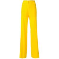Emilio Pucci Calça Pantalona - Amarelo