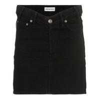 Balenciaga Saia Jeans - Preto