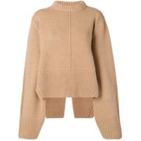 Khaite Suéter Em Cashmere - Marrom