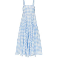 Lee Mathews Vestido 'clara' Xadrez - Azul
