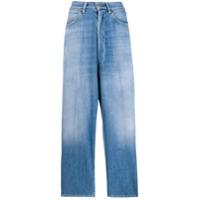 Golden Goose Calça Jeans Pantalona - Azul