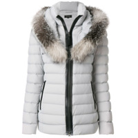 Mackage Fur Trimmed Padded Coat - Cinza