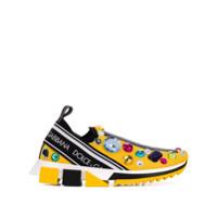 Dolce & Gabbana Sorrento Sneakers - Amarelo