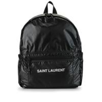 Saint Laurent Mochila Nuxx Com Logo - Preto