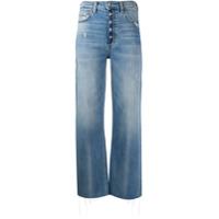 Boyish Jeans Calça Jeans Boyfriend Com Efeito Destroyed - Azul