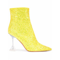 Amina Muaddi Ankle Boot Giorgia - Amarelo