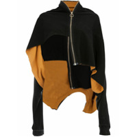 Aganovich Layered Zip-Up Jacket - Preto