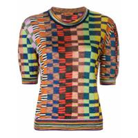 Missoni Camiseta Xadrez - Estampado