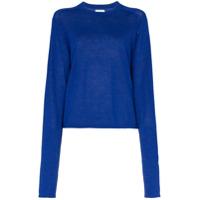 Carcel Suéter Em Lã De Alpaca - Azul