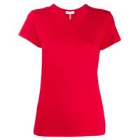 Rag & Bone Camiseta Slim Mangas Curtas - Vermelho