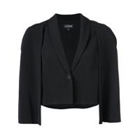 Cushnie Cape Style Jacket - Preto