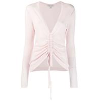 Autumn Cashmere Suéter Com Efeito Enrugado - Rosa