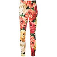 Dolce & Gabbana Legging Com Estampa Floral - Estampado