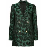 Mother Of Pearl Blazer Brocado - Green