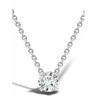Pragnell Colar Com Pingente Windsor De Ouro Branco 18K Com Diamante - Prateado