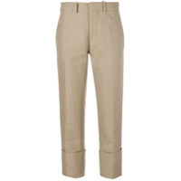 Marni Calça Chino Cropped - Neutro