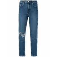 Nobody Denim Calça Jeans True Ankle - Azul