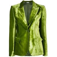 P.a.r.o.s.h. Blazer 'rocking' De Veludo - Verde