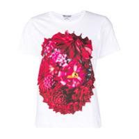 Comme Des Garçons Comme Des Garçons Camiseta Com Estampa Floral - Branco