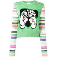 Escada Sport Suéter Com Padronagem - Verde