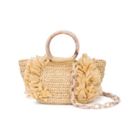 Carolina Santo Domingo Corallina Shoulder Bag - Marrom