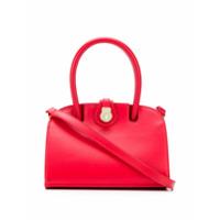 Manu Atelier Micro Ladybird Tote Bag - Vermelho