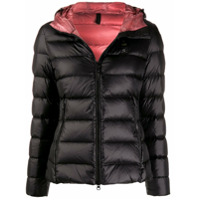 Blauer Hooded Down Jacket - Preto