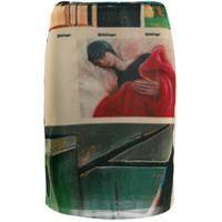 Ottolinger Short Mesh Skirt - Marrom