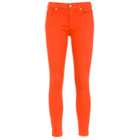 7 For All Mankind Calça Skinny Jeans - Laranja