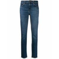 J Brand Calça Jeans Skinny De Algodão Misto - Azul