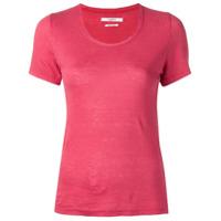 Isabel Marant Étoile Camiseta Mangas Curtas - Vermelho