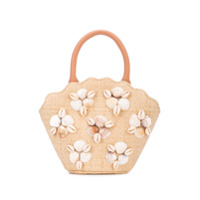 Loeffler Randall Shell Mini Bag - Branco