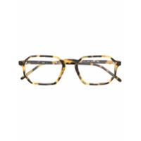 Ray-Ban Armação De Óculos Retangular - Marrom