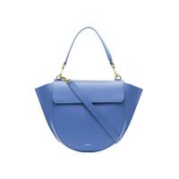 Wandler Blue Hortensia Medium Leather Shoulder Bag - Azul