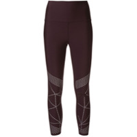 Nimble Activewear Calça Legging 'studio To Street' - Marrom