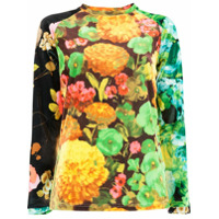 Richard Quinn Blusa Floral - Estampado