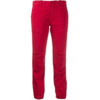Nili Lotan Calça Cropped - Vermelho