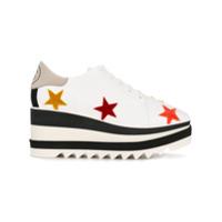Stella Mccartney Sapato Plataforma 'elyse' - Branco