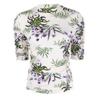 Kenzo Camiseta Com Lírio Do Mar - Neutro