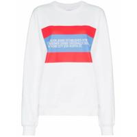 Calvin Klein Jeans Est. 1978 Blusa De Moletom Com Patch '1978' - Branco
