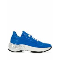 Casadei Tênis Com Plataforma - Azul