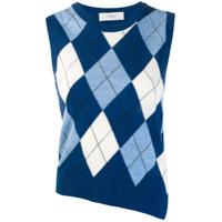 Pringle Of Scotland Suéter Com Estampa - Azul