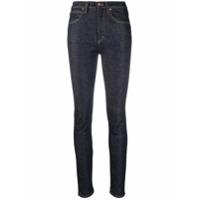 Victoria Victoria Beckham Calça Jeans Skinny Com Lavagem Escura - Azul