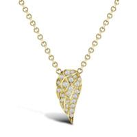 Pragnell Pingente Tiara De Ouro 18K Com Diamante - Dourado