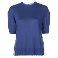 Adeam Blusa De Tricô - Azul