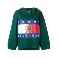 Hilfiger Collection Moletom Com Logo - Green