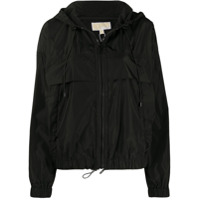 Michael Michael Kors Hooded Shell Jacket - Preto