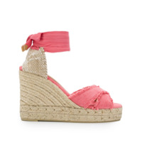 Castañer Blusa Wedge Sandals - Rosa